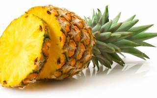 Как посадить дома ананас